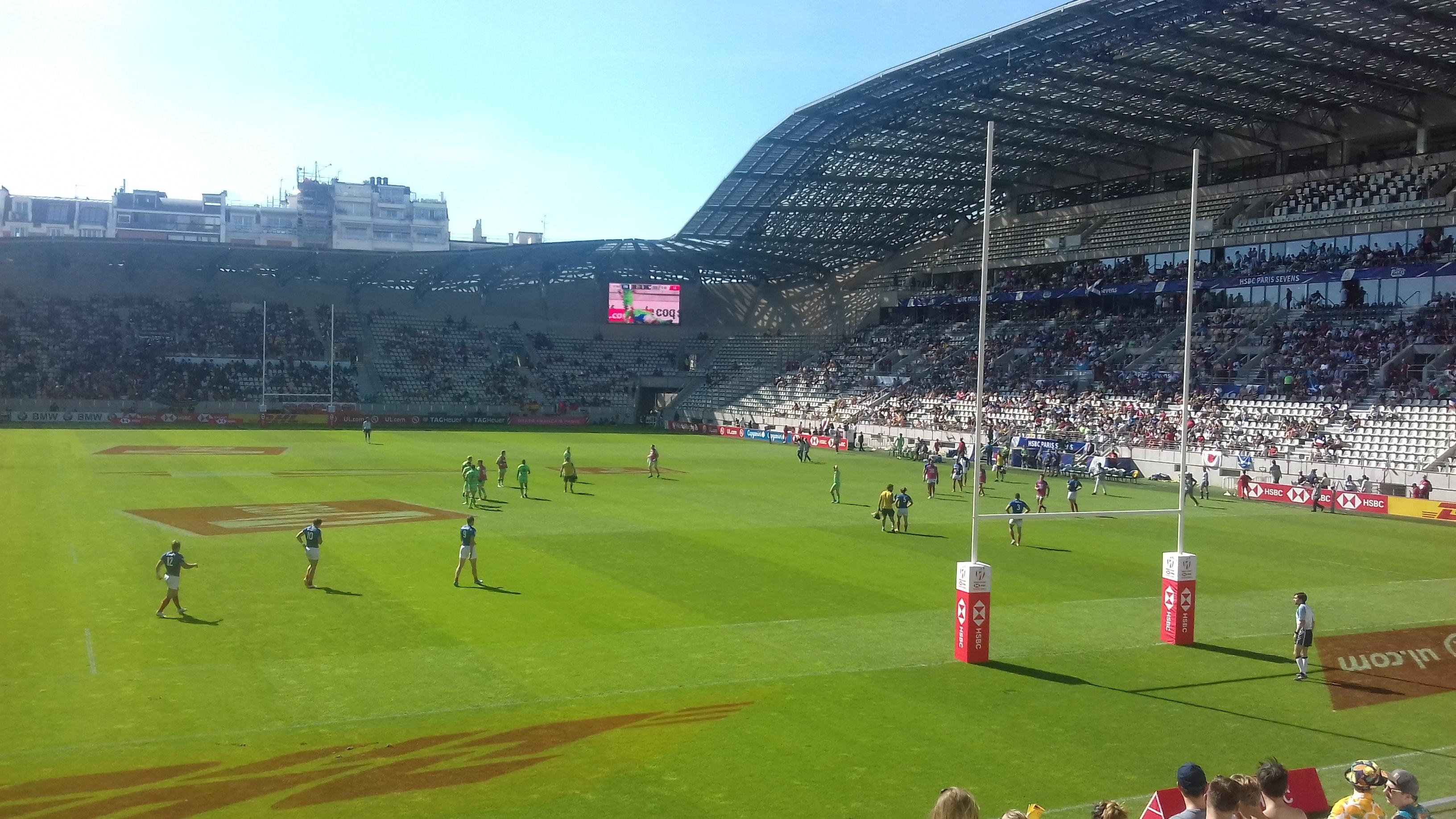 Trois classes à Paris à la découverte du rugby à 7